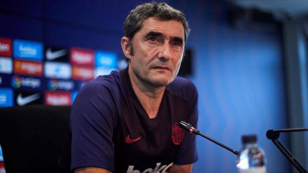 مدرب برشلونة الإسباني
