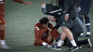 إصابة محمد صلاح اليوم